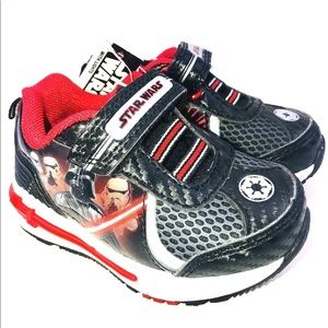 8e019f626a Size 5 Boys Shoes Star Wars Light Up sneakers new